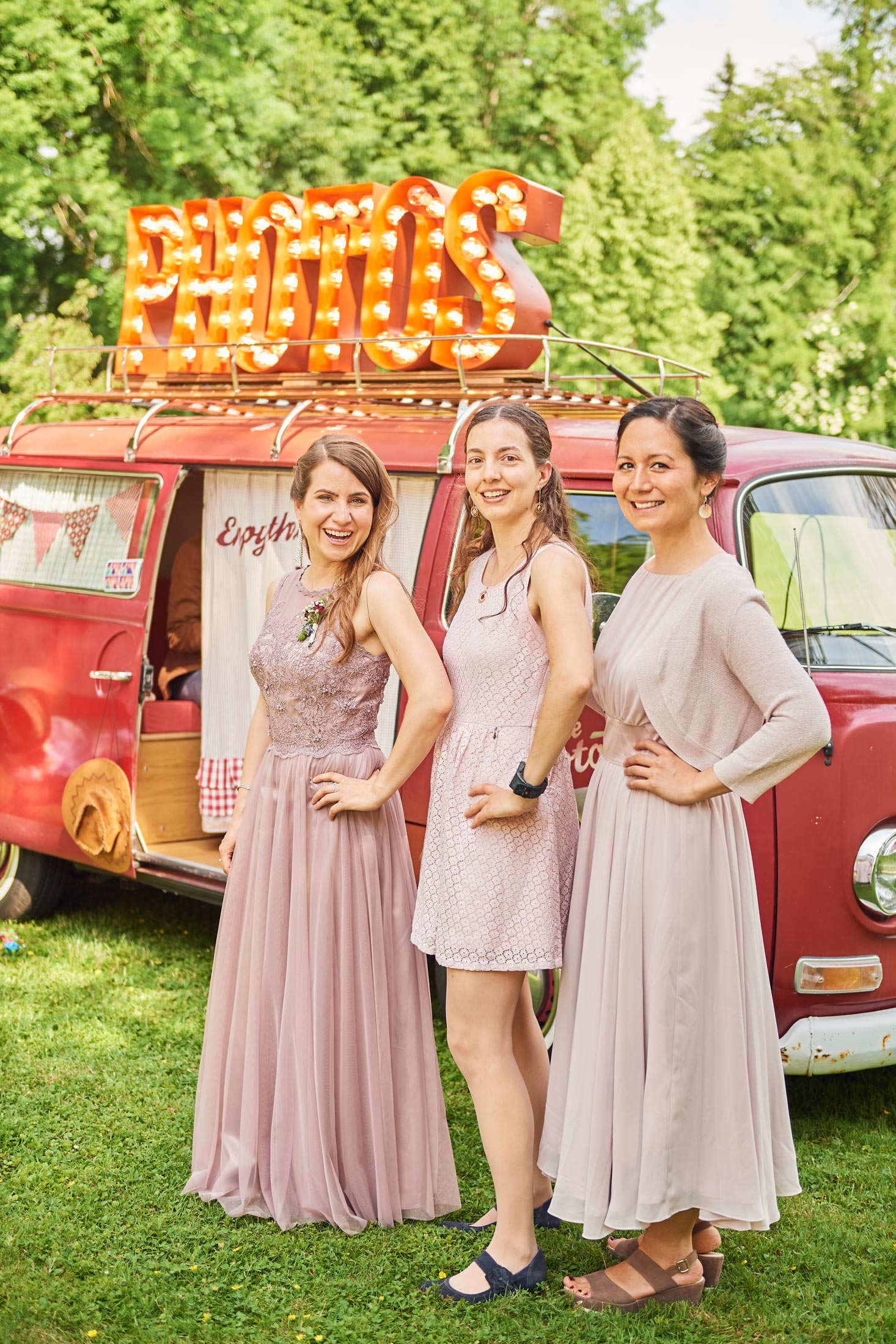 Hochzeit Photobus