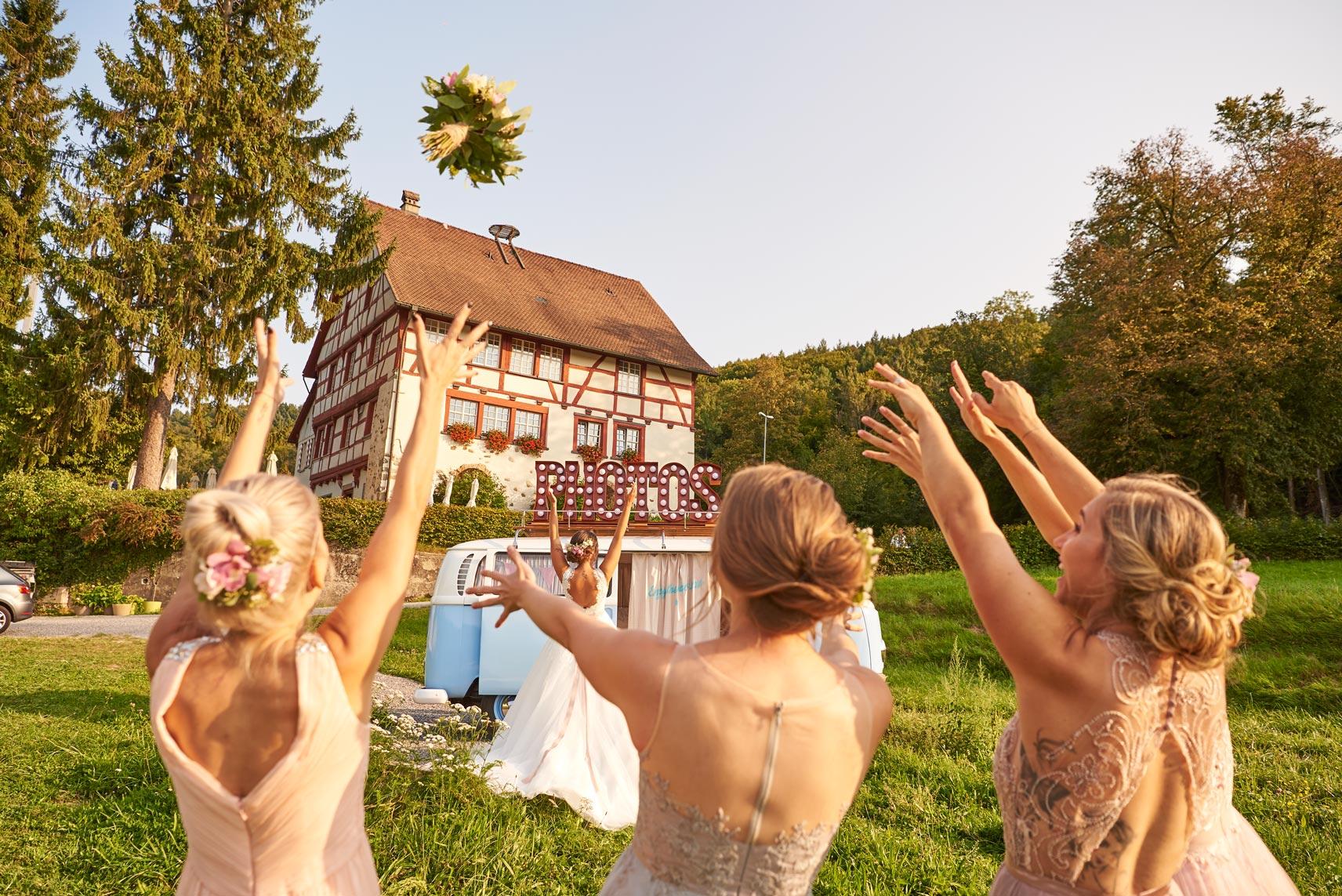 Fotobus & Bridesmaids
