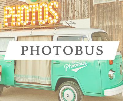 der Fotobus für Hochzeiten