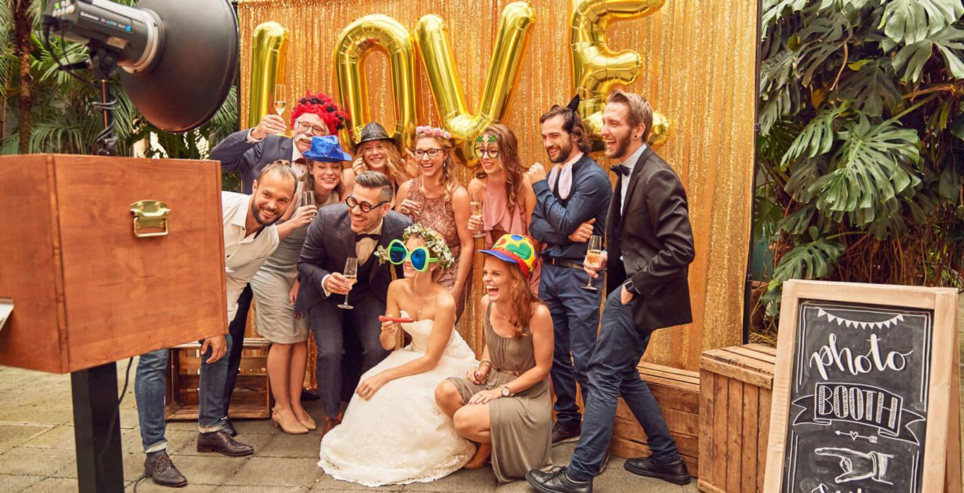 Photobooth mieten für Hochzeit