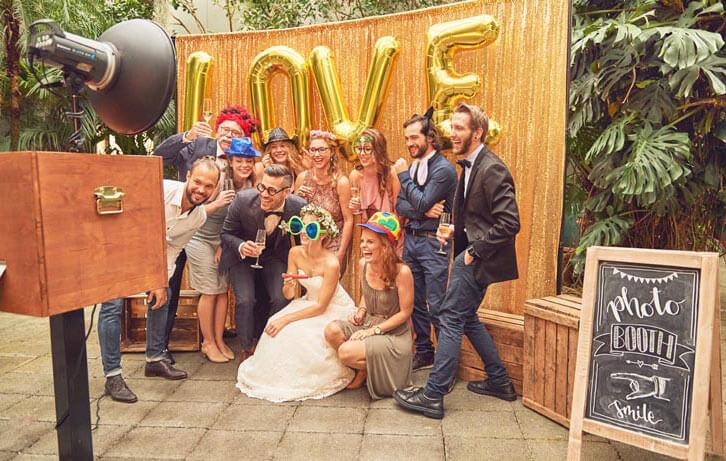 Photobooth & Hochzeitsfotos