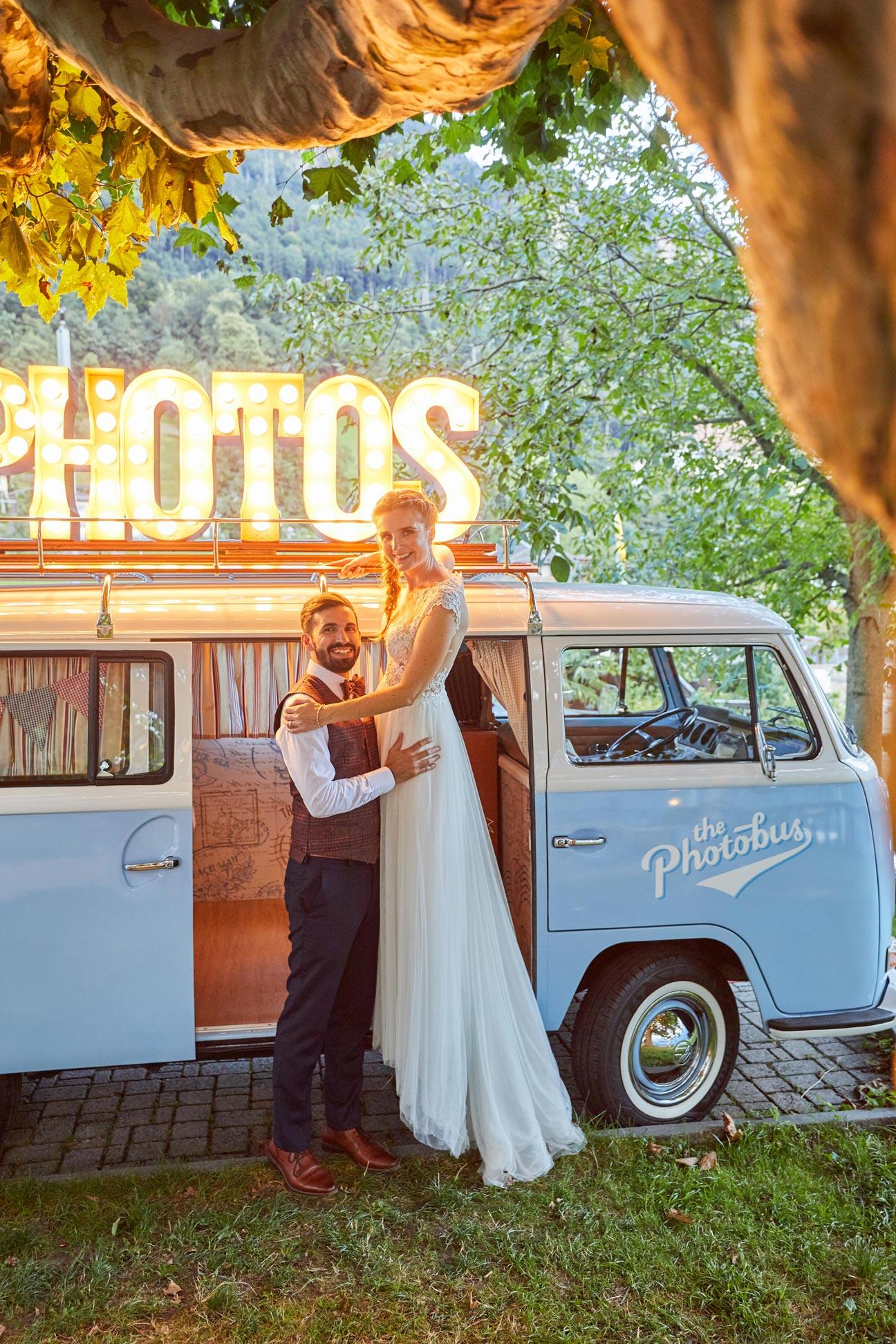Fotosujets für Hochzeit