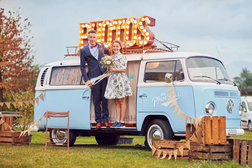 Fotobus als Hochzeitssujet von Wedding Photography